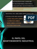 1.4-Papel Del Mantenimiento Industrial