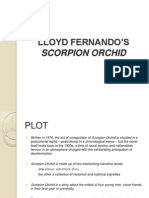 LLOYD FERNANDO'S SCORPION ORCHID