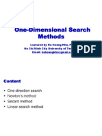 OP03a-One Dimensional Search Methods