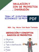 Introduccion a la Formulacion y Evaluación de Proyectos