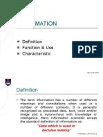 2. Information - Definition