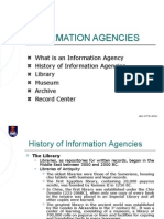 6. Lesson#4 Information Agencies