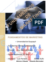 Fundamentos de Marketing