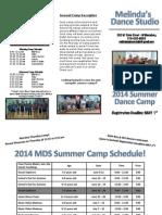 2014 MDS Summer Brochure Updated
