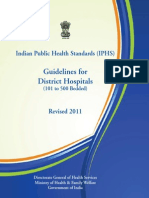 IPHS Guidelines District Hospital