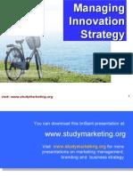 Innovation Strategy