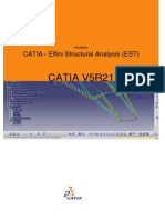 CATIA - Elfini Structural Analysis (EST)