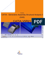 CATIA - Generative Assembly Structural Analysis 2 (GAS)