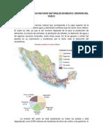Agotamiento de Los Recusos Naturales en Mexico