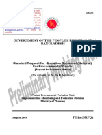 Standard Request for  Quotation Document (National)  For Procurement of Goods  [Request for Quotation Method]