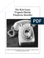 S00 Rob Grant Telephone Identifier - Index and Intro