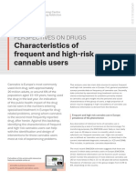 EMCDDA POD 2013 Frequent Cannabis Users