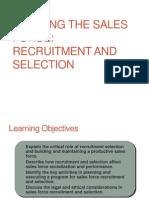 Recruitment +