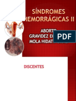SÍNDROMES HEMORRÁGICAS II