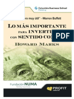 Lo Mas Importante Howard Marks F NUMA 201211
