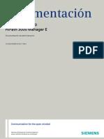 HiPath 3000_5000 V8, Manager E, Documentaci�n de administraci�n, Edici�n 7