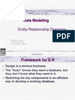 Data Modeling Entity Relationship Diagrams