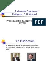 Modelo AK de Crescimento Econômico