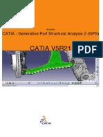 CATIA - Generative Part Structural Analysis 2 (GPS)