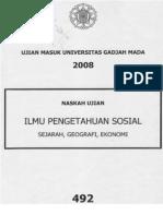 Utul Ugm 2008 Kemampuan Ips