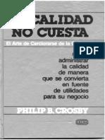 CROSBY - La Calidad No Cuesta