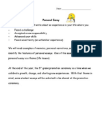 personal essay overview