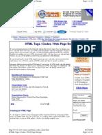 HTML Codes Chart