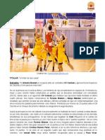 Un líder de dos caras  - Almería Basket 59 - 47 Colegio Virgen del Carmen