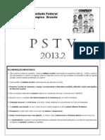 Prova Pstv 2013 2