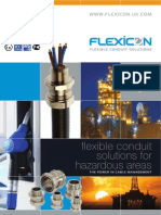 Catalog of Flexicon Flexible Conduit Solutions for Hazardous Areas