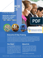 Workforce Analytics Training Brochure