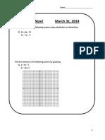 moyer math - algebra ii - gp 03-31-14