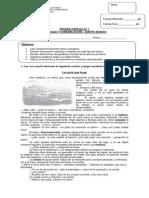 Evaluación Unidad Reforzamiento 5° básico