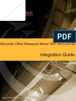 Microsoft Office Sharepoint Server 2007 Integration Guide (1)