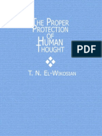 The Proper Protection of Human Thought TN ElWikosian Book