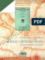 Os Annales e a Historiografia Francesa Aguirre Rojas