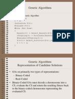GAs Genetic Algorithms