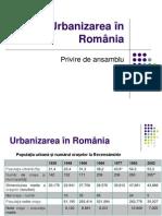 Urbanizarea în România