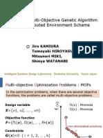 MOGADES Multi-Objective Genetic Algorithm