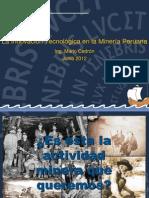 lainnovacintecnolgicaenlamineraperuanam-cedrn2-120608171337-phpapp02