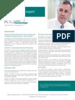 David Horvath, PCG Public Partnerships, LLC Subject Matter Expert