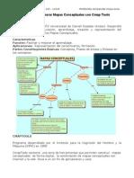 Guía para elaborar Mapas Conceptuales con Cmap Tools