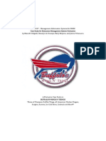 HRIM 107 RMS Case Study Buffalo Wings N' Things