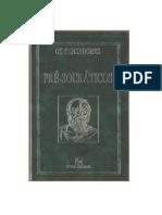 503e34ad95 01 - Os Pré-socraticos - Coleção Os Pensadores (1996)