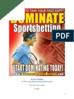 Dominate Sports Betting