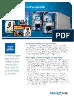 Impresoras Datacard Serie SD DP12-9010 SD260-360 DataSheet LR