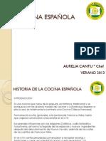 2. HISTORIA DE LA COCINA ESPAÑOLA