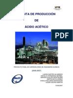 Planta de Produccion Ac Acetico