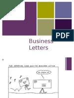 grade 9 business letter presentation