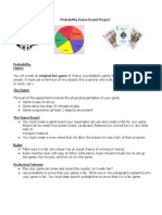 Probability Board Game Project